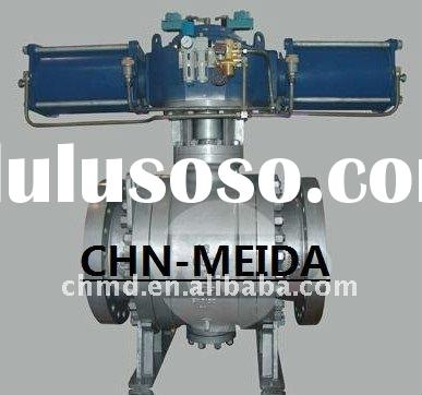 API6D Trunnion Mounted Metal Seat 3PC Ball Valve