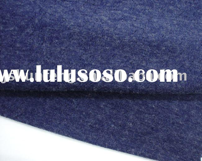 Acrylic+Wool Transfer loop Knitting Textile Fabric
