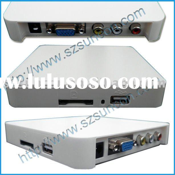 Advertising Player Card Reader with VGA output