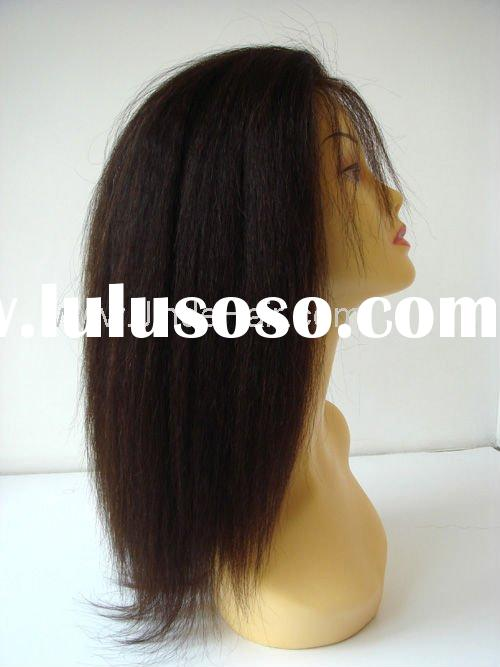 African American Lace Front Wigs kinky hair