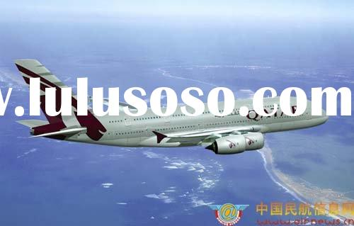 Air freight services from China to LAHORE,LHE by QATAR/QR air lines