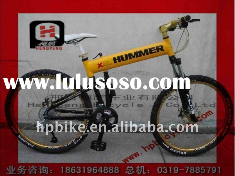 Alluminium alloy Mountain bike with shimano gear system