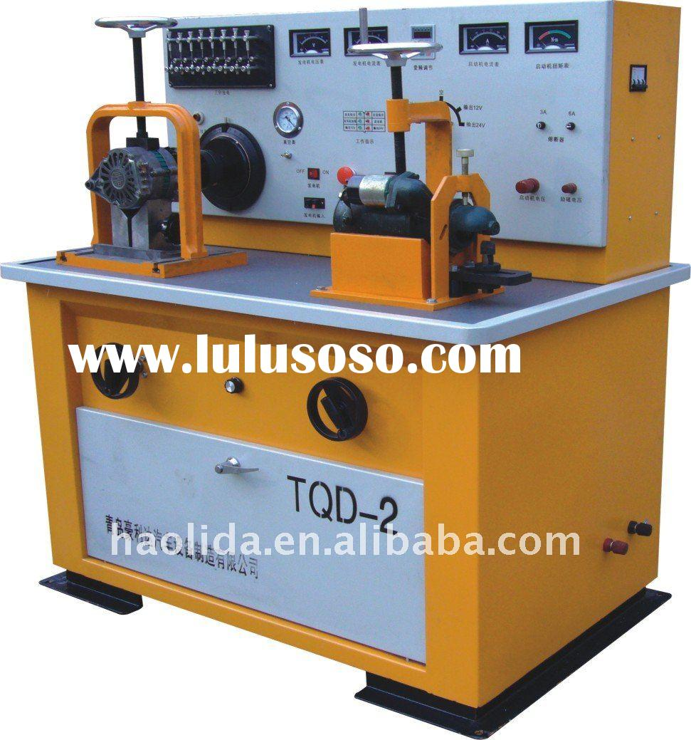 Auto Electrical Test Bench, test generator, distributor, starter motor