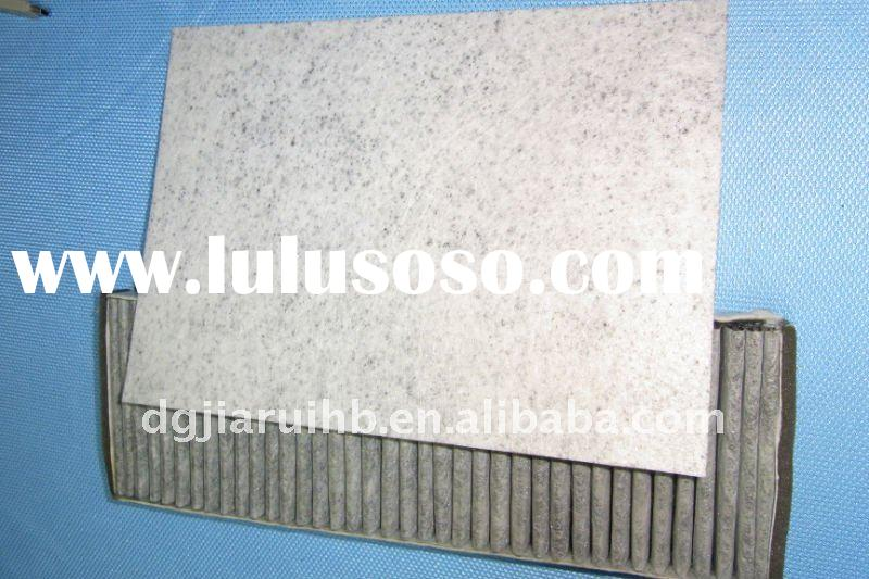 Auto activated carbon air filter materials