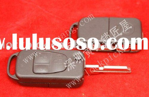 Auto key shell for Benz 3 Buttons Folding Remote Key Casing