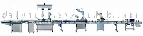 Automatic Filling,Capping ,Sealing and Labeling Line(shampoo,lotion,detergent,vinegar,wine,sauce,wat