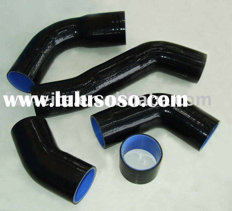BLACK FOR TOYOTA SUPRA 2JZ Intercooler Turbo Hose Kit AUTO PARTS,radiator silicone hose kit PIPE BLU