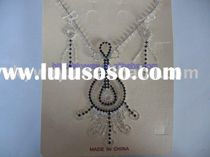 BRIDAL WEDDING BRIDESMAID JEWELRY SETS