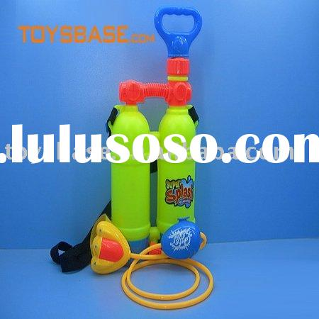 Backpack three nozzle high pressure water gun