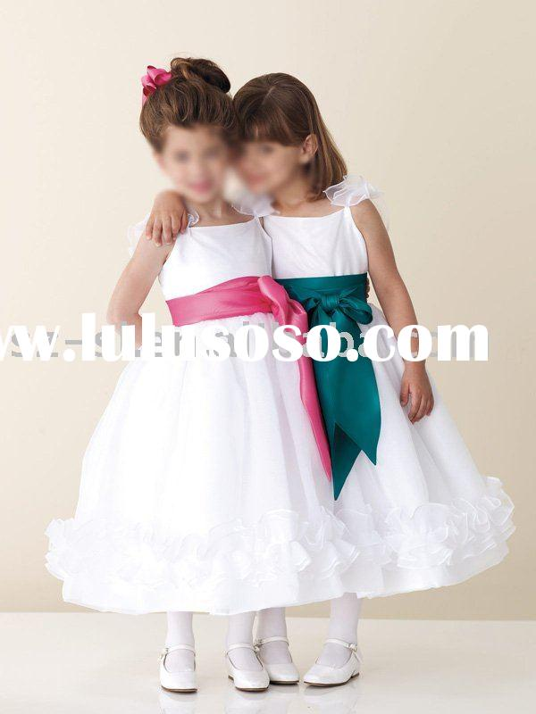 Beautiful Flower girl wedding dress sl-399