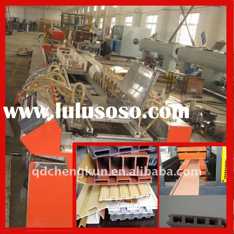 Best! WPC profile double screw extruder/ wood plastic production line/WPC machine