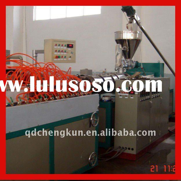 Best Wood plastic furniture production line/ wood plastic furniture machine line/extruder furniture