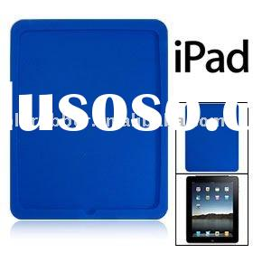 Blue protector silicone case back skin cover for Apple Ipad