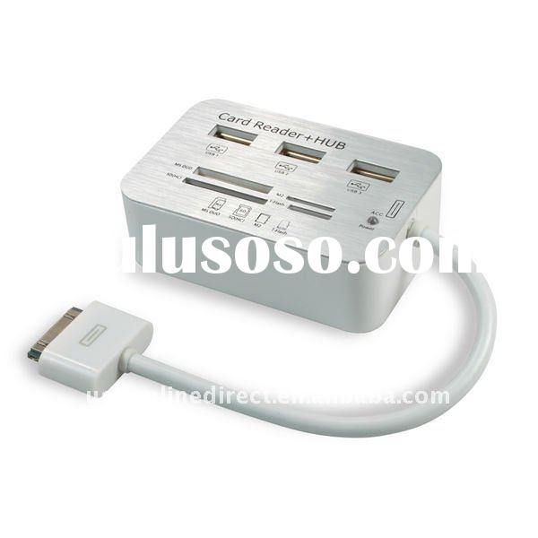 Camera Connection Kit USB SDHC Card Reader with 3 USB Hub COMBO for Apple ipad series