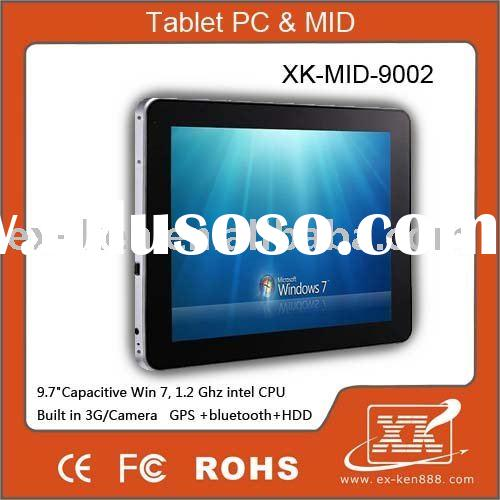 "Capacitive !!! 9.7"" tablet pc , laptop ,tablet pc android with Windows 7 / GPS /Bluetooth"