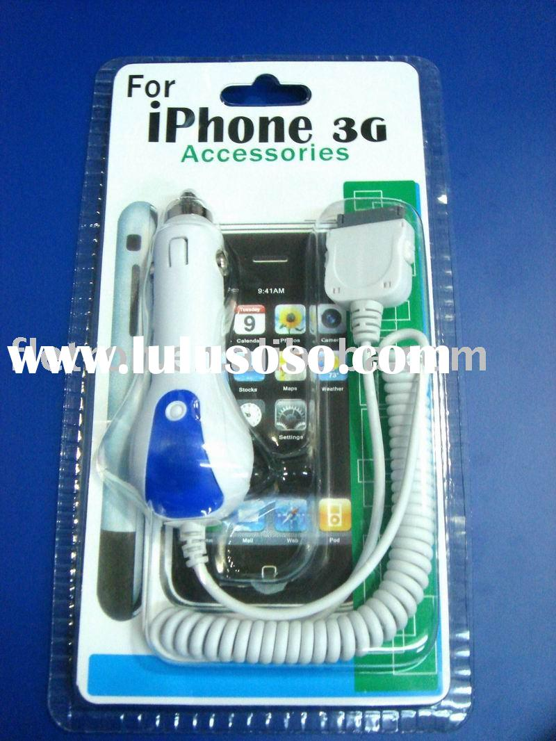 Car Charger for ipod iphone 3G 4G 4S