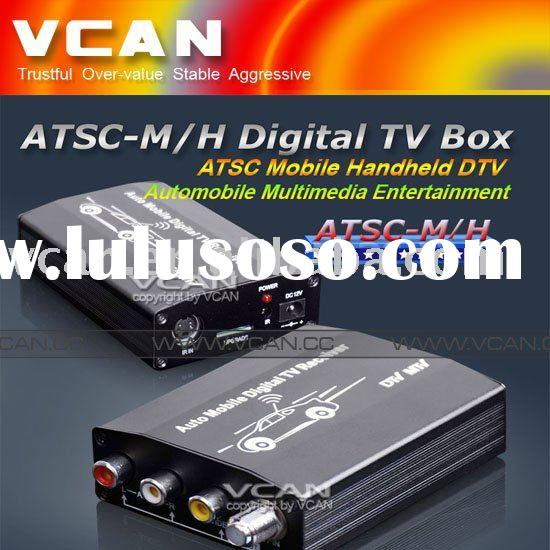 Car DTV digital TV receiver for USA mobile or handheld, HDMI