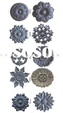 Cast Iron Decoration,Cast Iron rosetters,Ornamental Cast Iron