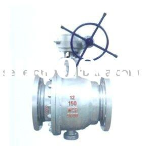Cast Steel 2PC ball valve(Trunnion Ball Valve/Flanged ball valve)