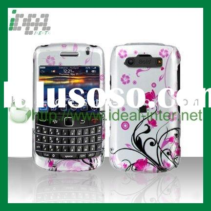 Cell Phone Case with Pink Flower Wines Pattern