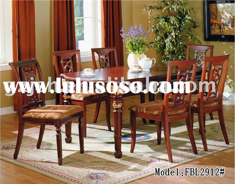 Classical Dinning Room Sets (A dining table+6 Chairs/8 Chairs)