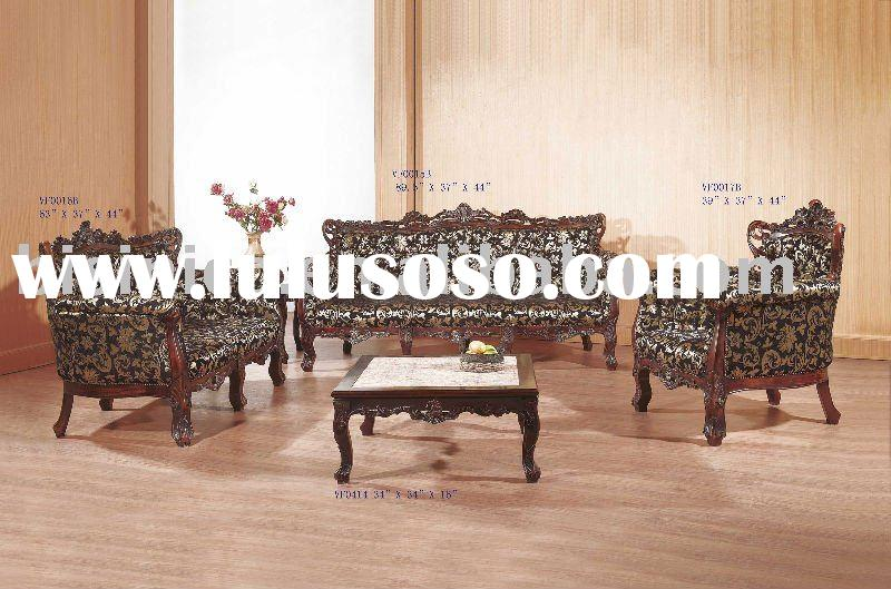 Classical solid wood living room sofa set,single sofa,love sofa,three seat sofa,coffee table,hand ca