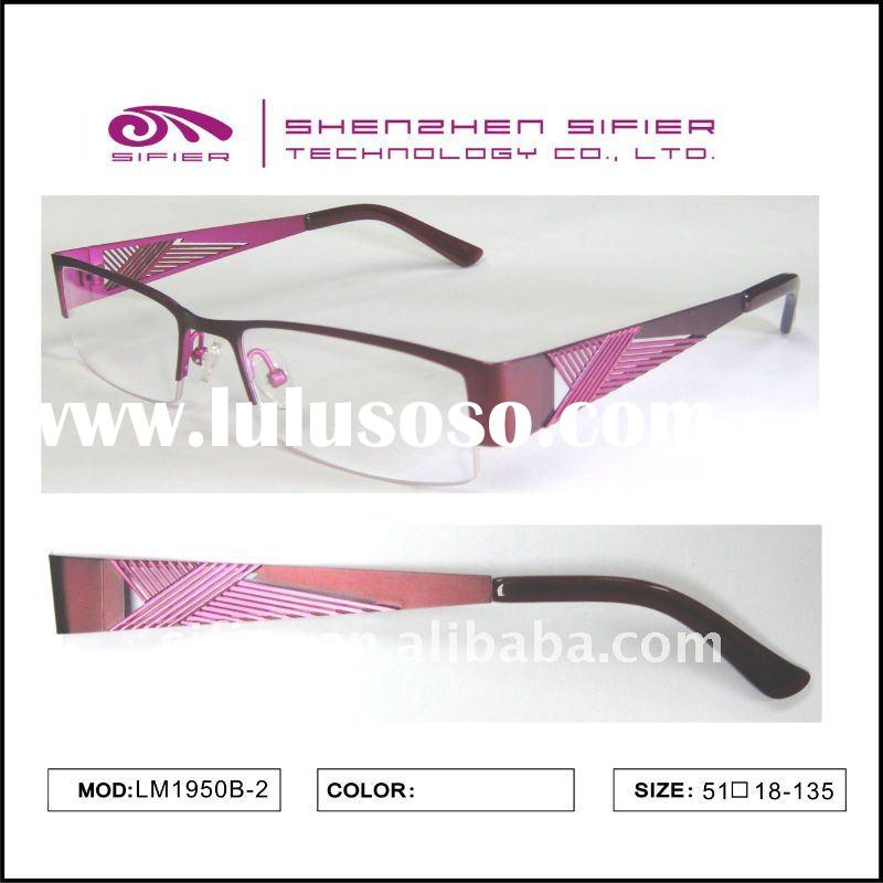 Cool High Quality Designed Half Frame Metal Eyewear