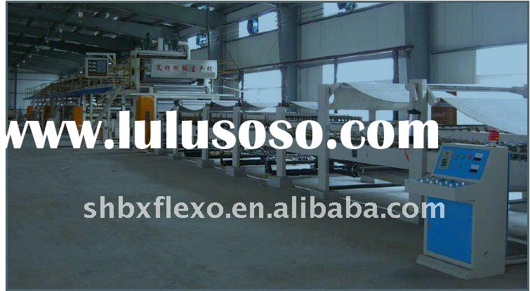Corrugated Cardboard Machine Full Automatic Corrugated Cardboard Making Machine