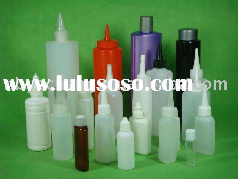 Cylinder plastic bottle (has 5ml-1L for cosmetic,paint,chemical,liquid use)