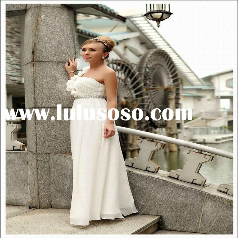 DOERISQUEEN Fashion Style One Shoulder Western Wedding Dresses Plus Size 2011 & 2011 Charming La