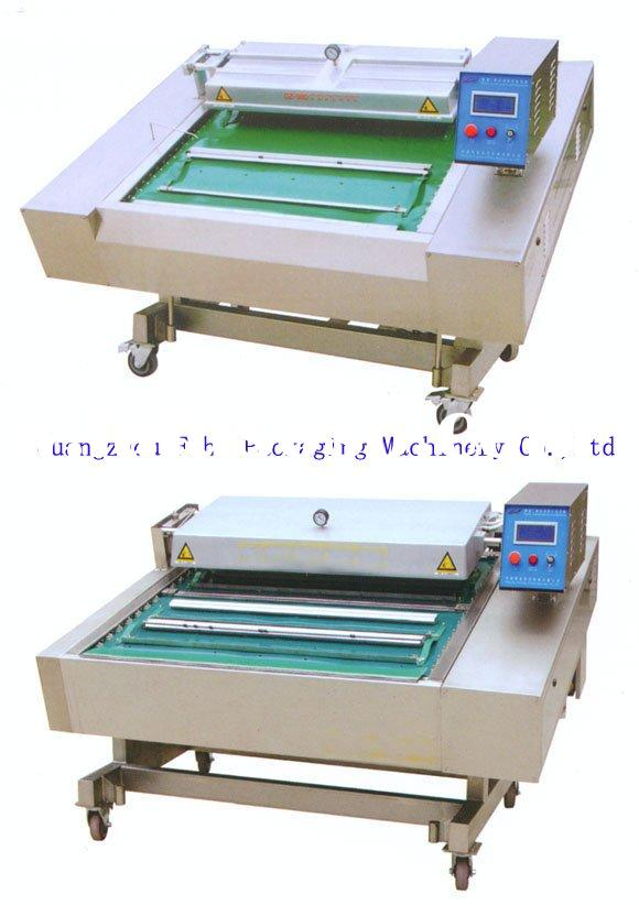 DZ-980 Continuous Move Vegetable Vacuum Packing Machine