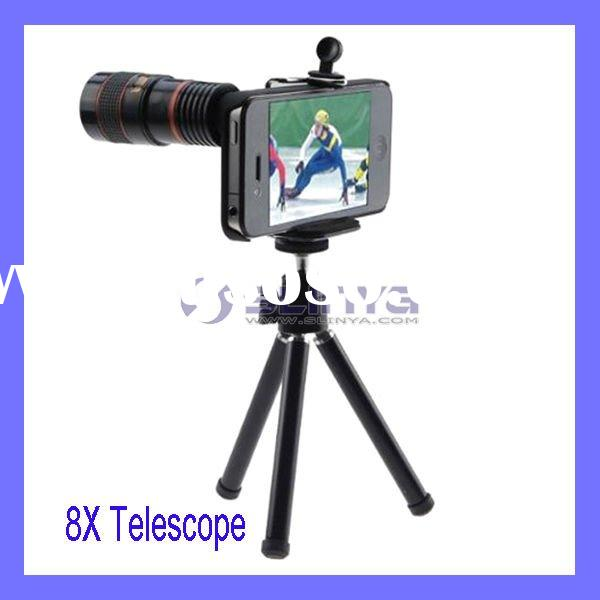 Digital Camera 8X Telescope Lens zoom lens for iPhone 4 4G 4s