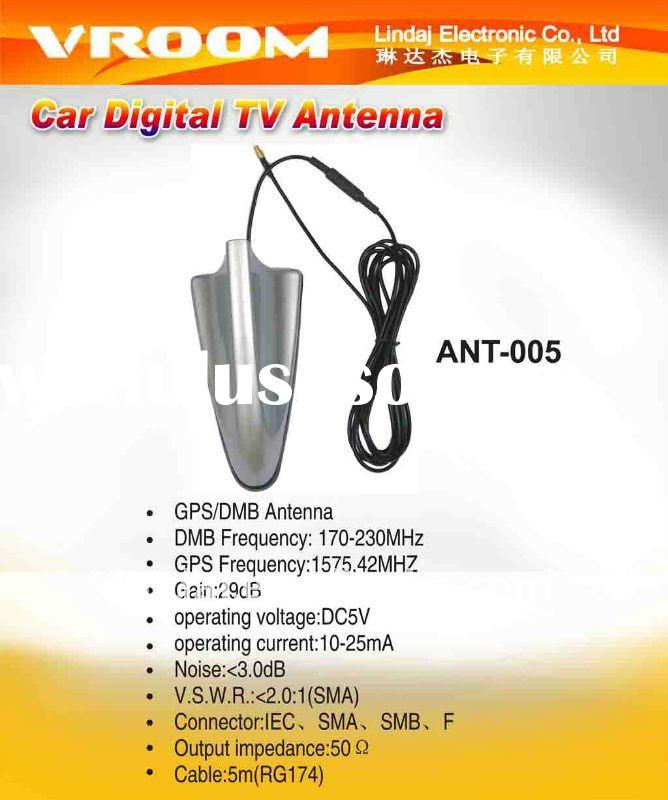 Digital TV Car Antenna Car Radio Antenna Amplifier