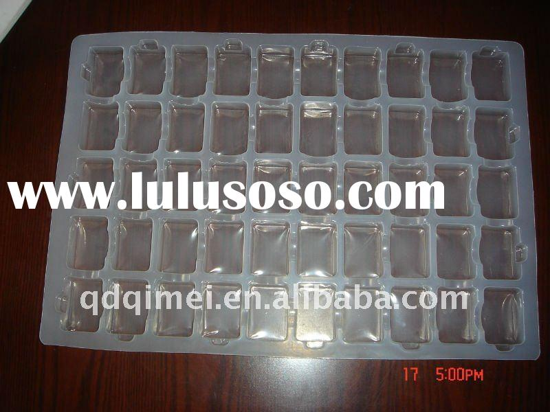 Disposable Clear PS Antistatic Blister Plastic Tray for Electronic