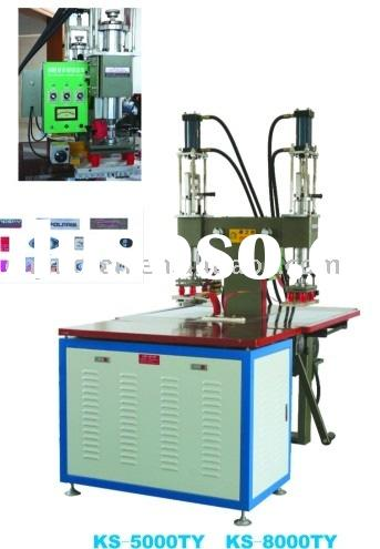 Dual-head air pressure high frequency plastic welding machine
