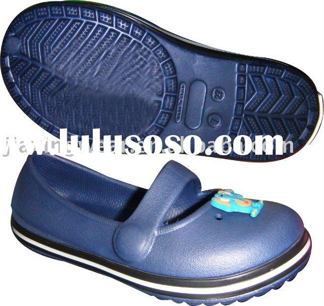EVA baby clogs with Slip-resistant Available in Various Colors and Natural Rubber Material