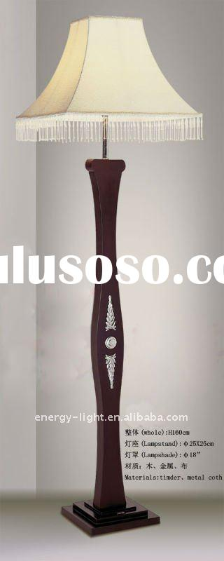 "European Elegant Wood Floor Lamp for Hotel Decoration---About 63""H"
