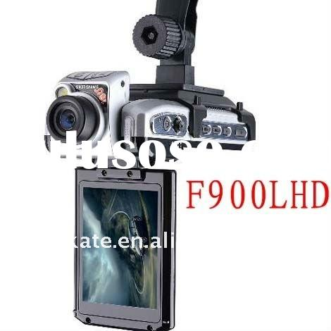 F900LHD Car camera mobile Dvr vedio recorder camcorder HDMI AVout 2.5 TFT screen with night version
