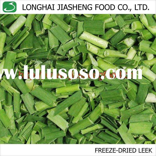 FD Green Leek Cut, Natural Vacuum Freeze Dried Vegetables,spices
