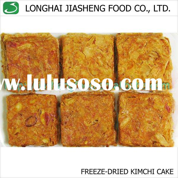 FD Kimchi Cake, Vacuum Freeze Dried lyophilized Vegetables