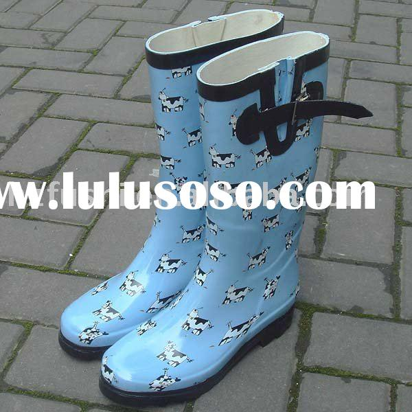 FS Small Cow ladies rubber boots rain boots