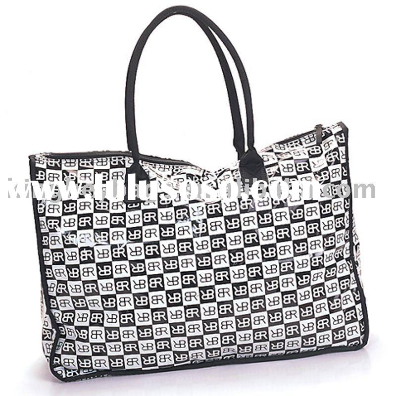 Fashion Design PVC Lady Tote Bag