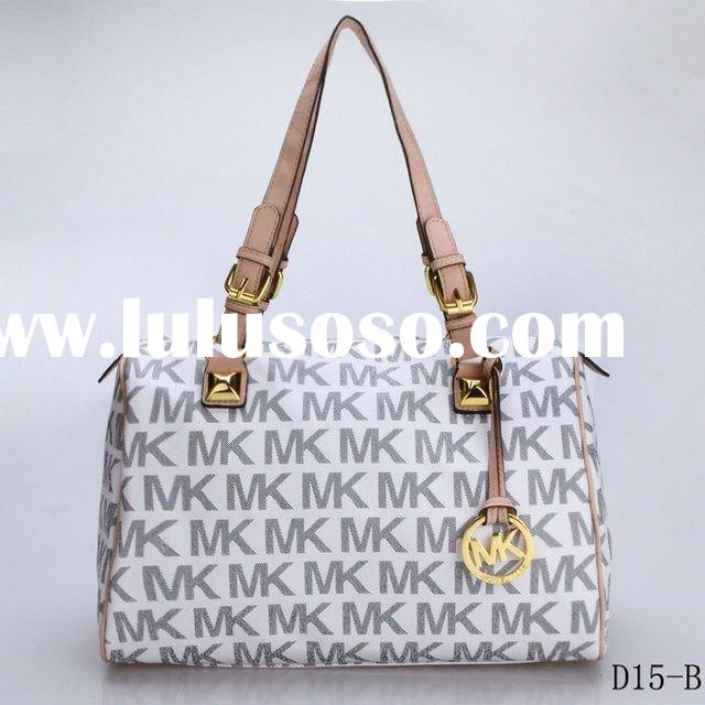 Fashion Michael Kors Medium Grayson Monogram Satchel handbags ladies PVC leather MK bags
