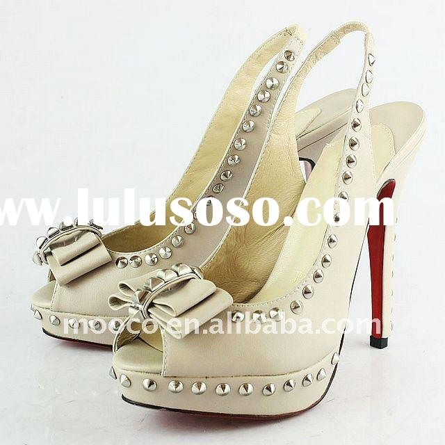 Fashion ladies high heel shoes 2012
