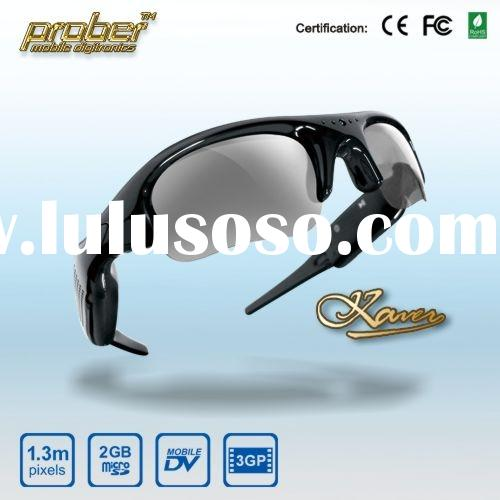 Fashionable Digital camera recorder/Camera sunglasses/sunglasses camcroder with 2GB TF Card