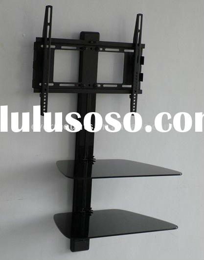 Flat Panel TV Bracket,Components Wall Stand,Two Layer DVD Mount For 22''~42'