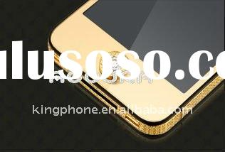 For transparent diamond gold iphone 4g home button