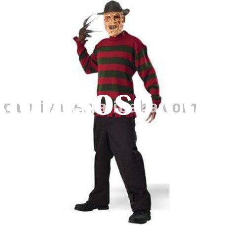 Freddy Kruger costumes/halloween horrific costumes/movie and film costumes BSMC-0002