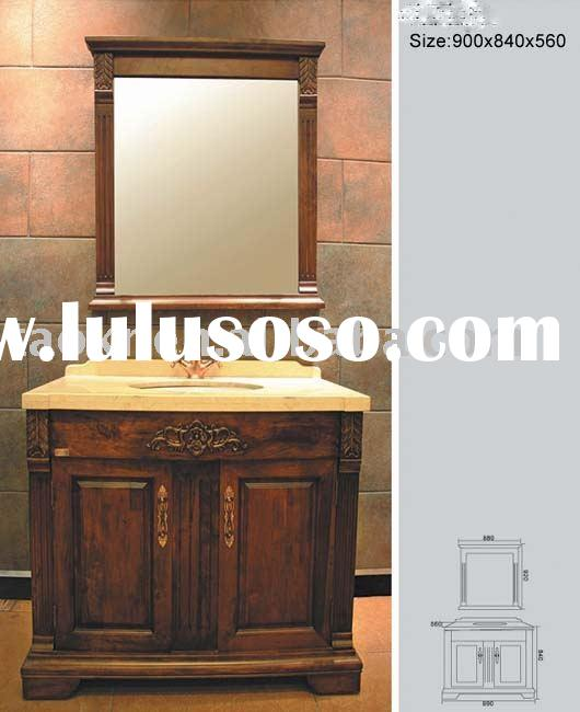 Free standing bali style solid wood bathroom cabinets