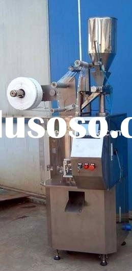 Full automatic triangle tea-bag packing machine